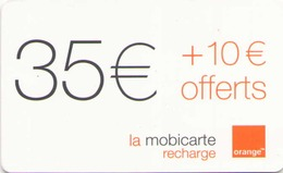MOBICARTE ORANGE 35 + 10 OFFERTS 06/2003 - France