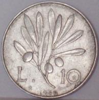 Repubblica Italiana 10 Lire 1949 - - 1946-… : Repubblica