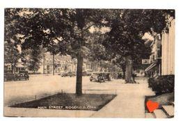 20383-LE-ETATS UNIS-MAIN STRETT,RIDGEFIELD,CONN.----------voitures - Etats-Unis