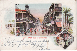 281525Port Said, Rue Du Commerce 1901 (down Tear) - Port-Saïd