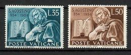 1954 - VATICAN - St. Augustine - Scott #187-188 - MNH VF ** - Vatican