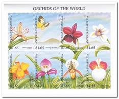 Antigua & Barbuda 1997, Postfris MNH, Flowers, Orchids, Butterflies - Antigua En Barbuda (1981-...)