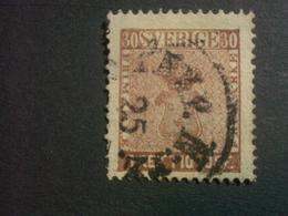 """SUEDE  ( O )  De  1858 / 1870  """"   Valeur En ÖRE  Dentelé 14     """"  N°10          1 Valeur  . - Suède"""