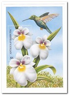 Antigua & Barbuda 1997, Postfris MNH, Flowers, Birds - Antigua En Barbuda (1981-...)