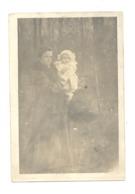 Photo Carte D'une Maman Et De Son Bébé - Circulé De Bruxelles à AUVELAIS En 1913 -  A SITUER - Cartes Postales