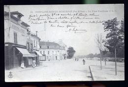 CONFLANS SAINT HONORINE AU ROND POINT               DDDD - Conflans Saint Honorine