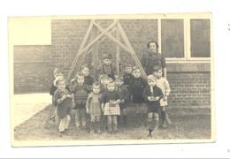 Photo Carte D'une Classe Maternelle - Ecole, Cour De Récréation , Institutrice -  195... ?  A SITUER - Ecoles