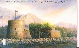 CARTE-MAGNETIQUE-OMAN-NATURAL SCENE FORT-BE - Oman