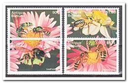 Antigua & Barbuda 1995, Postfris MNH, Flowers, Bees - Antigua En Barbuda (1981-...)