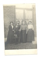 Photo Carte D'une Famille - Mode,...en1910 -  A SITUER - Cartes Postales