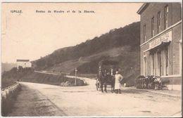JUPILLE Routes De Wandre Et De  La Xhavee  - Café   Belle Vue Attelage Des Cheveaux Cachet 1910 D3 1102 Edit.  AHH - België
