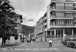 """07270 """"TORINO - V. BOCCACCIO DA P.ZA CARRARA (M. DEL PILONE) - SACAT"""" ANIM. AUTO ANNI '50 FILOBUS. CART. ORIG. NON SPE - Multi-vues, Vues Panoramiques"""