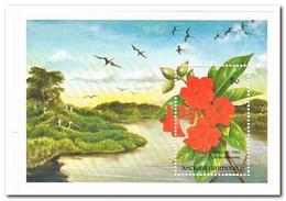 Antigua & Barbuda 1993, Postfris MNH, Flowers, Birds - Antigua En Barbuda (1981-...)