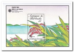 Antigua & Barbuda 1990, Postfris MNH, Flowers - Antigua En Barbuda (1981-...)