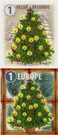 Belgium - 2017 - Christmas And New Year - Mint Self-adhesive Booklet Stamp Set - Belgien