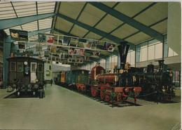 Verkehrshaus Der Schweiz Luzern - Halle Rollmaterial, Hall Of Railway Rolling Stock - LU Lucerne