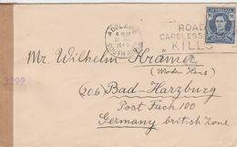Australie Lettre Censurée Pour L'Allemagne 1949 - 1937-52 George VI