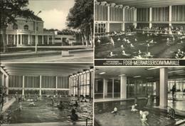 1975-KÜHLUNGSBORN-Ostseebad; FDGB-Meerwasserschwimmhalle, Stempel BAD DOBERAN, Gelaufen - Allemagne