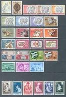 BELGIUM - 1961 - MNH/***LUXE -  JAAR ANNEE YEAR 1961 COMPLETE  - QUOTATION 44.00 EUR - Lot 16177 - Belgique
