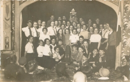 CARTE PHOTO GROUPE DE SCOUTS SCOUTISME - Scoutisme