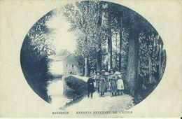 Bassenge -- Enfants Revenant De L' Ecole.  (2 Scans) - Bassenge