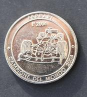 """Jeton """"Ferrari - Champion Du Monde 2004"""" Formula One - Course Automobile - Formule 1 - F1 - Professionals/Firms"""