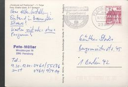 3247   Postal Flensburg 1987  Flamme, Rundum - [7] República Federal