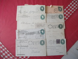Lot  De 8 Envellopes    U.S.A. 1895/1905 - ...-1900
