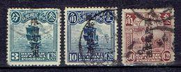Sinkiang SG 4, 10, 14 Used - Sinkiang 1915-49