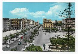 CATANIA - PIAZZA G.VERGA E CORSO ITALIA  - VIAGGIATA FG - Catania
