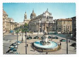 CATANIA - PIAZZA DUOMO  - VIAGGIATA  FG - Catania