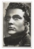AUTOGRAFO ROSSANO BRAZZI  ATTORE  SU CARTOLINA  FOTOG.CA 14 X9  AUTENTICO - Autographs
