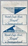Suikerwikkel - 's-Hertogenbosch. Hotel-Café-Restaurant - Royal -. Den Bosch. Zucker. Sugar. Sucre. Suiker. - Suiker