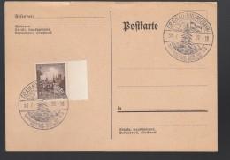 DR Postkarte Sonderstempel 1938 Grainau Zugspitzbahn Ungelaufen K1567 - Poststempel - Freistempel