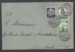 DR Brief Zusammendruck ZD S 233 1936 Bochum K721 - Briefe U. Dokumente