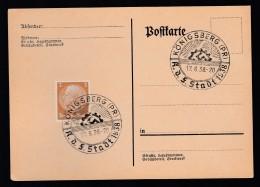 DR Postkarte Sonderstempel 1938 Königsberg Pr K1345 - Poststempel - Freistempel