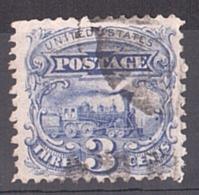 Etats-Unis - 1869 - N° 31 - Grille En Relief - Locomotive Baldwin - Gebraucht