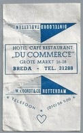 Suikerwikkel - BREDA. Hotel Café Restaurant - DU COMMERCE -. Grote Markt 26-28. Zucker. Sugar. Sucre. Suiker. - Sugars