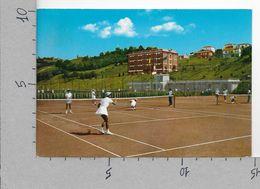 CARTOLINA VG ITALIA - SERRAMAZZONI (MO) - Centro CONI E Campi Da Tennis - 10 X 15 - ANN. 1971 - Modena