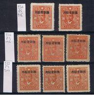 Sinkiang SG 230 / Chan PS 196 + 200 + 216 - Sinkiang 1915-49