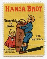 CINDERELLA : GERMANY - HANSA BROT, HAMBURG - Cinderellas