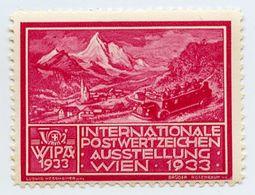 CINDERELLA : AUSTRIA : WIEN, WIPA 1933 - Cinderellas