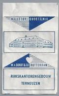 Suikerwikkel - TERNEUZEN. RIJKSKANTORENGEBOUW. Oordt & Co Rotterdam - Dinteloord Tabletten - Suiker