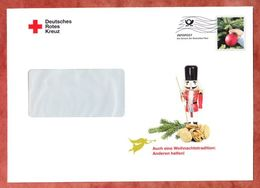 Infopost, Deutsches Rotes Kreuz, Christbaumkugel, Frankierwelle (46472) - Machine Stamps (ATM)
