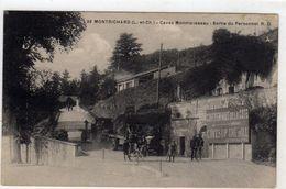 Montrichard Caves Monmousseau Sortie Du Personnel - Montrichard