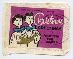 CINDERELLA : CHRISTMAS GREETINGS - PRESBYTERIAN SOCIAL SERVICES, FOR THE CHILDREN'S HOMES - Cinderellas