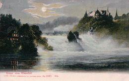 Gruss Vom Reinfall + Cachet Linéaire ROMANSHORN (22.10.1909) - SH Schaffhouse