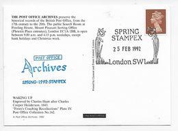 Stampex Spring 1992 - Post Office Archives - Waking Up - 1952-.... (Elizabeth II)