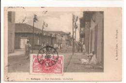 SENEGAL -Rufisque - Rue Gambetta. 14 Juillet - Sénégal