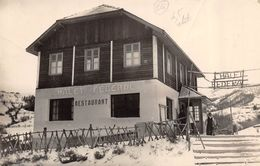 CPSM 04 LE SAUZE BARCELONNETTE LE CHALET FEDERAL 1953 - France